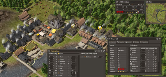 Bored of SimCity? Try Banished The Video Game