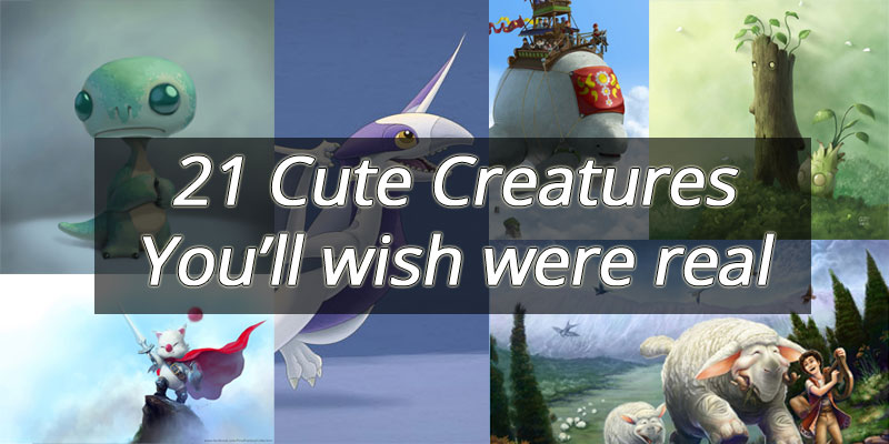 21 Cute creatures you'll wish were real