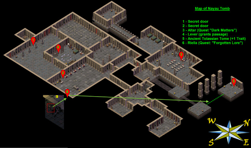 Picture of Exiled Kingdom Nayau Tomb Map
