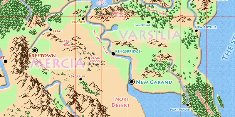 Grid Worldbuilding: An experiment in designing your world like a video game.