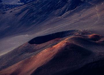 alien volcano world