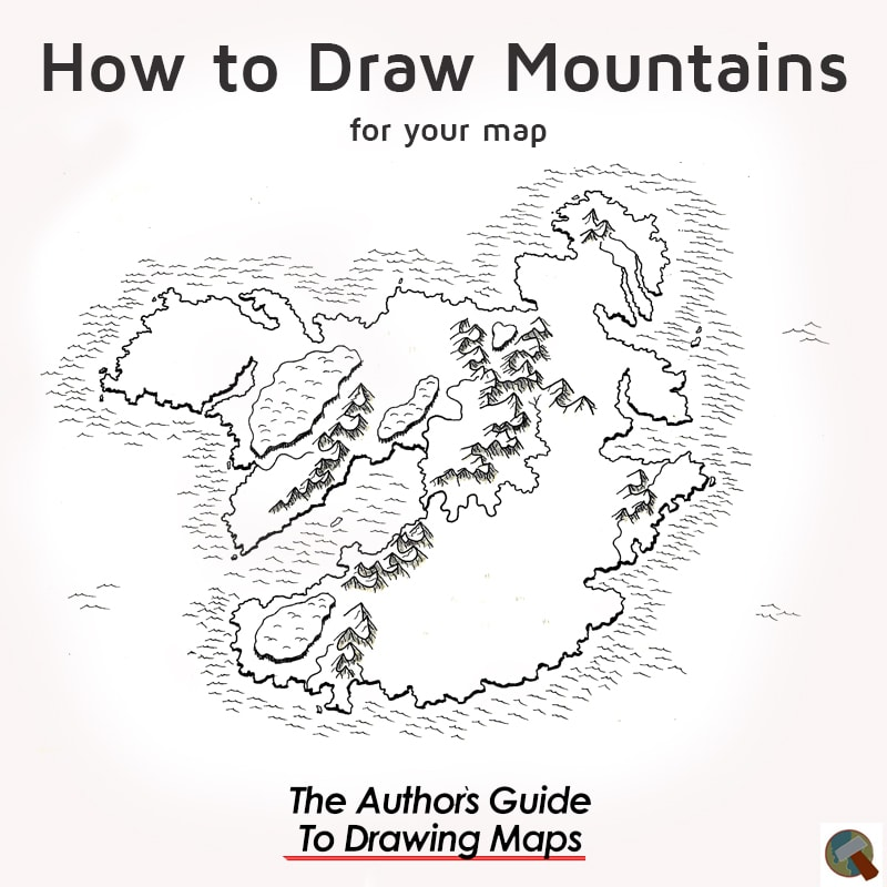 How to draw mountains for your map