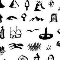 22 Great Map Resources and Tutorials - icons, brushes and more