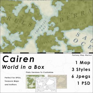 Cairen world in a box