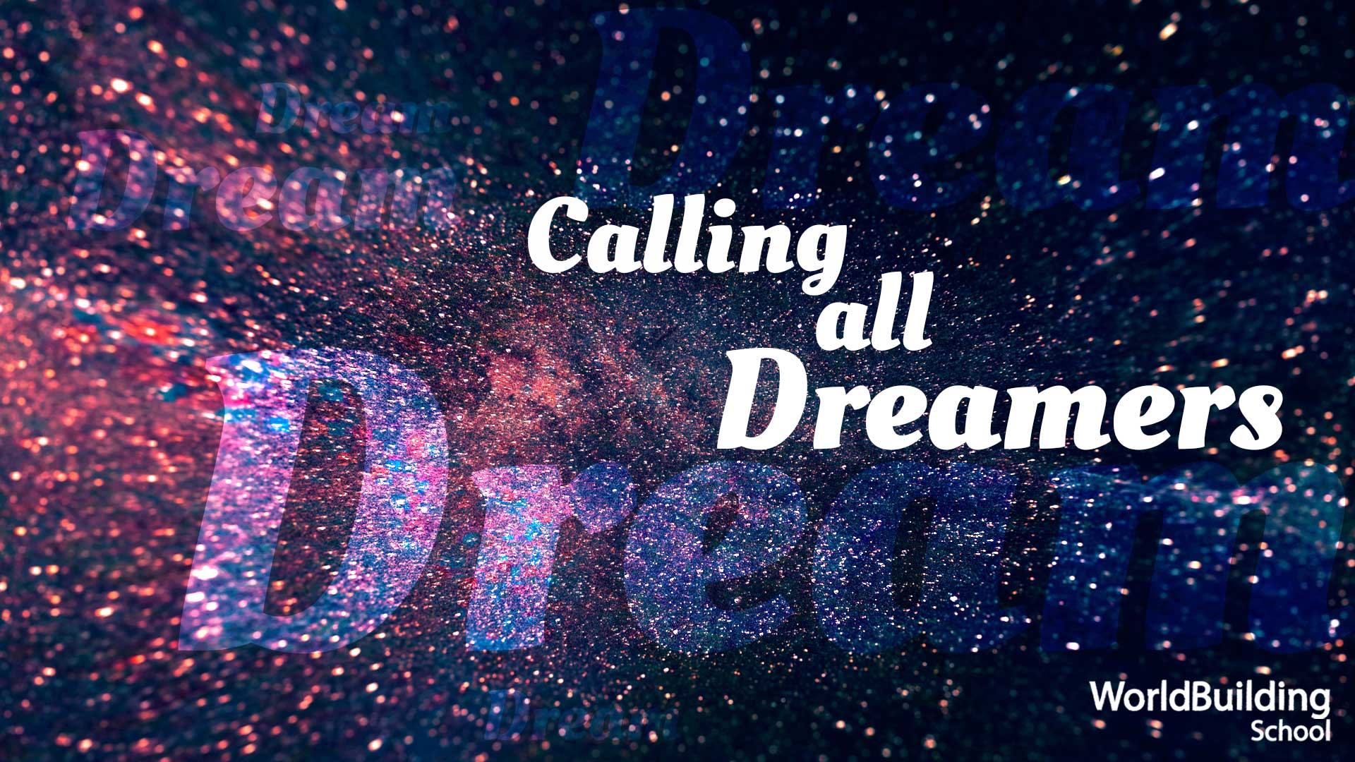 Header image calling all dreamers