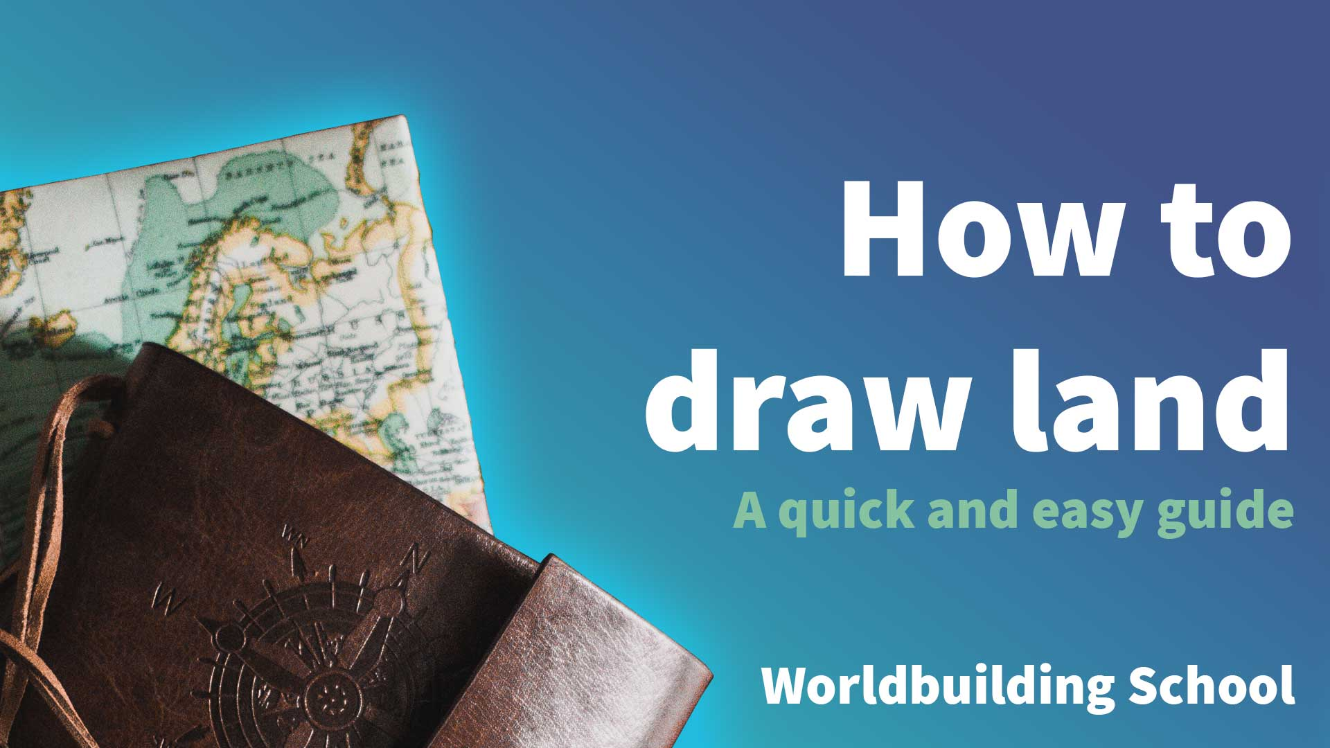 How to draw land