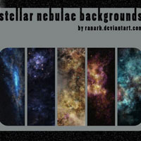 stellar nebulae backgrounds