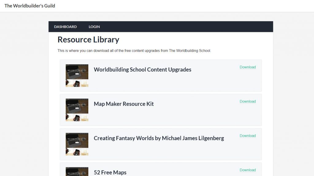 Preview of the Resource Library